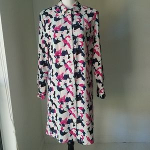 Grace Elements long tunic sz M abstract